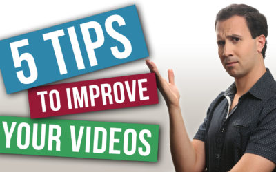 Tips to improve your videos instantly!