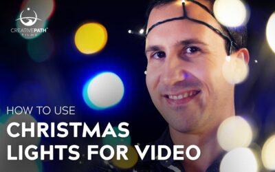 Using Christmas Lights